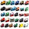 10pcs Lot Thomas Train For Children Thomas And Friends Anime Railway Trains Toy Mini Train Wooden