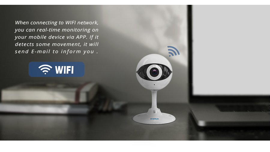 KERUI N61 Wireless Home Security IP Camera Wireless Mini IP Camera Surveillance CCTV Camera Wifi 720P Night Vision Baby Monitor_102