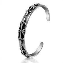 Fashion jewelry titanium steel bracelet Punk rock bangles Titanium steel jewelry bangles