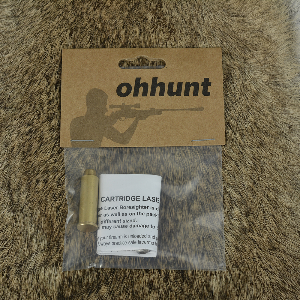 ohhunt CAL.38 Cartridge Red Laser Bore Sighter Boresighter Sighting Sight Boresight Colimador For Hunting Rifle