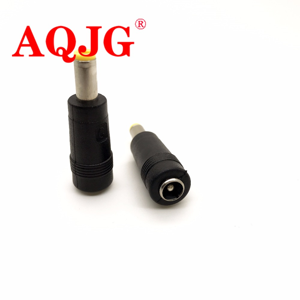 10 pcs DC Jack 5.5x2.1mm Female to 5.5x1.7mm Male DC Power Adapter 5.5*2.1 to 5.5*1.7 For