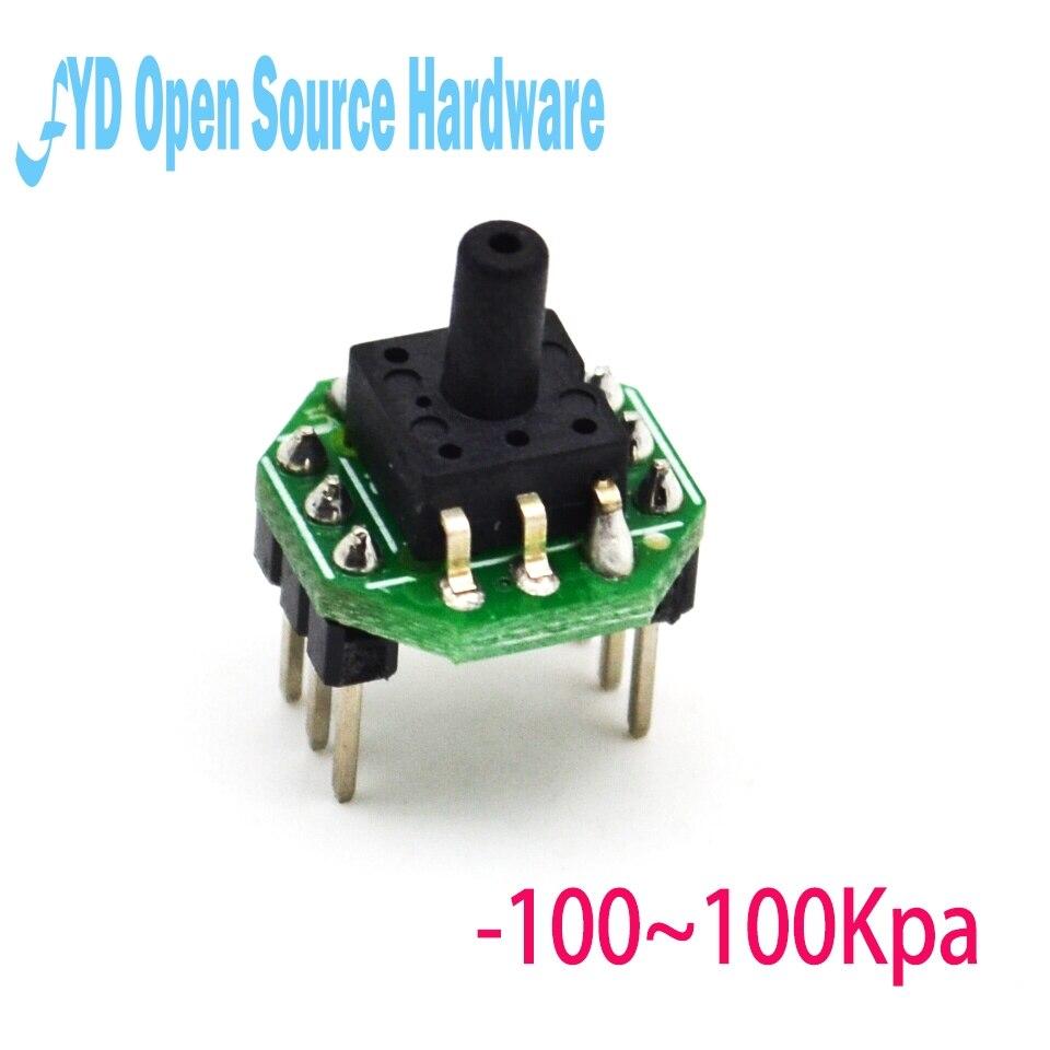 1pcs XGZP6847 -100~100KPa pressure sensor transmitter module 0.5-4.5V1pcs XGZP6847 -100~100KPa pressure sensor transmitter module 0.5-4.5V