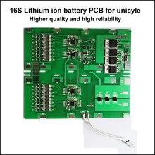 Placa de circuito da proteção da bateria do li íon de bms 60 v para o pwb da bateria da solo roda 16 s 60 v ou 67.2 v unicycle bateria de íon de lítio