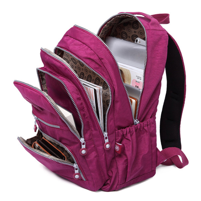 New Kids School Bag Fashion Women Backpacks Schoolbag For Girls Practical Large Capacity Travel Bag For Girls For Man Sac A Dos