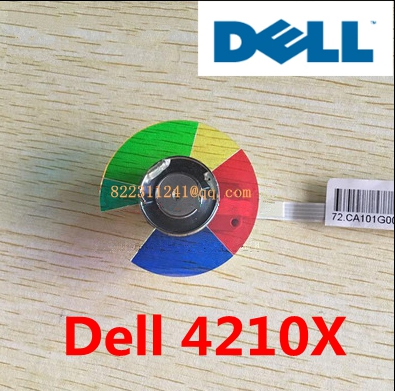 NEW original Projector Color Wheel for Dell 4210X wheel color new original projector color wheel for viewsonic pjd6240 color wheel