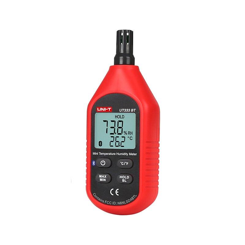 UNI T UT333BT Bluetooth iENV Mini Temperature Humidity Meter LCD Mositure Meter Tester Digital Thermometer Hygrometer