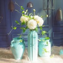 5pc Dahlia +2pcs Clematis Leaves Cream White Bouquet Exclusive Sales Artificial Flower  Home Decoration Free Shipping