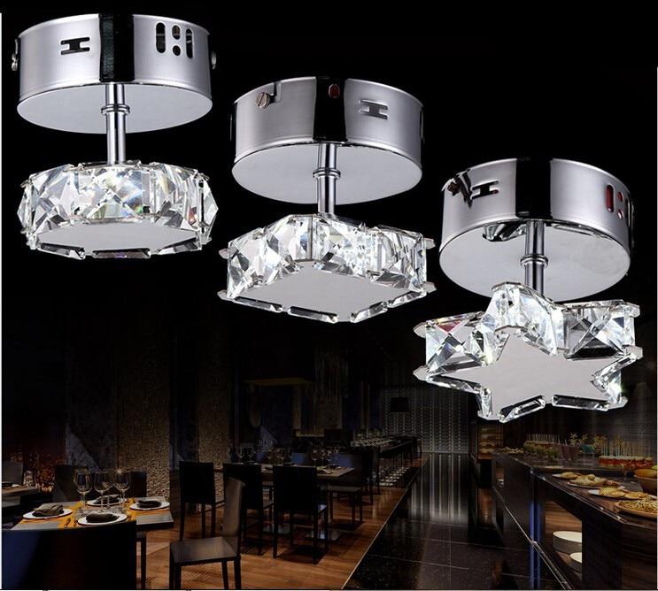 Модная Современная led k9 хрустальная лампа для потолка Светодиодная лампа из нержавеющей стали хрустальный потолочный светильник светодиодный светильник потолочный светильник s