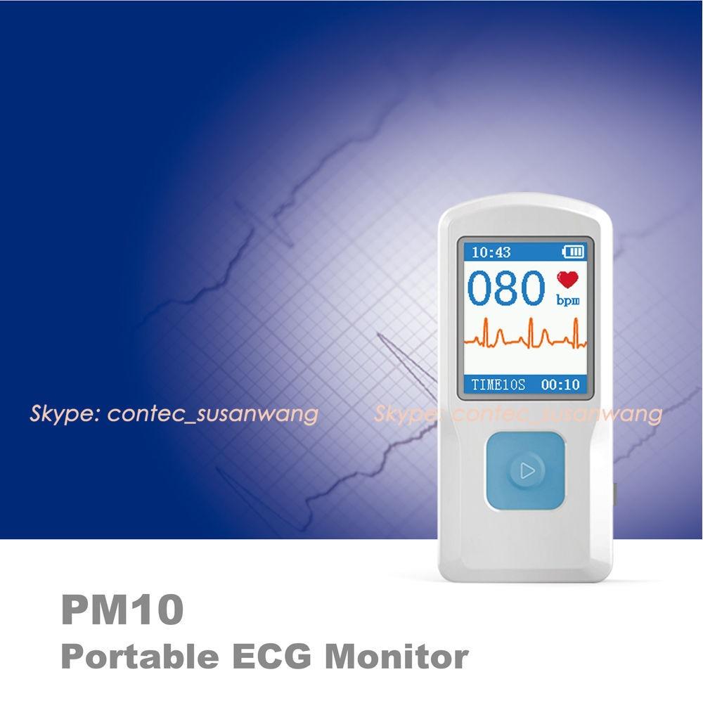 Portable ECG Monitor for family,1.77color TFT-LCD Bluetooth Rechargable Quick ECG EKG Health Care Household Medical EquipmentPortable ECG Monitor for family,1.77color TFT-LCD Bluetooth Rechargable Quick ECG EKG Health Care Household Medical Equipment