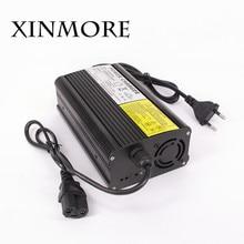 Xinmore lifepo4 литиевых Батарея Зарядное устройство 43.2 В 8a 7a 6a Smart Зарядное устройство AA 36 В для автомобиля Электрический велосипед E велосипед электрический инструмент