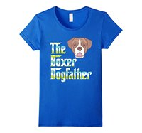 The Boxer DogFather Dad T Shirt Gift For Father Dog Lovers Male Designing T Shirt Top