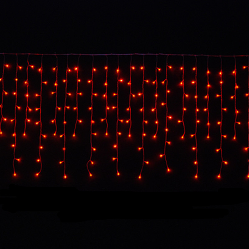 LED-Ice lights red