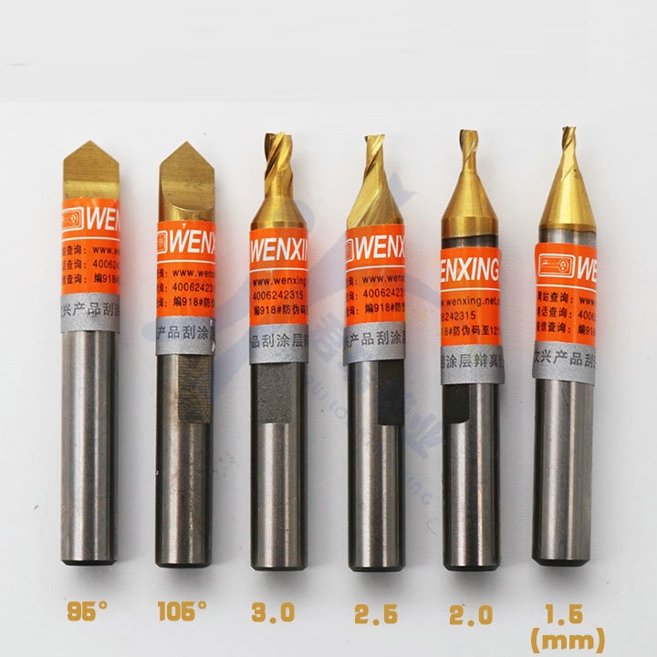 Wenxing Best End Milling Cutter Cutters For Key Cutting Machine Locksmith Tools Bits Drill