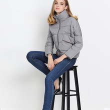2016 Autumn Winter Jacket Women Short Casual Women Padded Jacket Outerwear Female Winter Cotton Padded Down