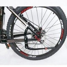 Adjustable Bicycle Kick Stand Alloy Cycling Storage Support Rack Mountain Bike Side Kickstand недорого