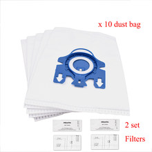 Filtres de remplacement pour aspirateur Miele 3D GN, 12 pièces, C2 C3 S2 S5 S8 S5210 S5211 S8310