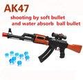 AK 47 Pistola de Juguete 600 Unids Absorber Agua Bala 3 Unids Suave Pistola de Agua de Juguete Pistola de bala Orbeez Crystal Regalo de Cumpleaños De Bala