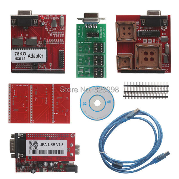Top selling UPA USB Serial Programmer Full Package V1.3 Popular Eeprom Universal Chip Programmer auto ECU Tool In stock