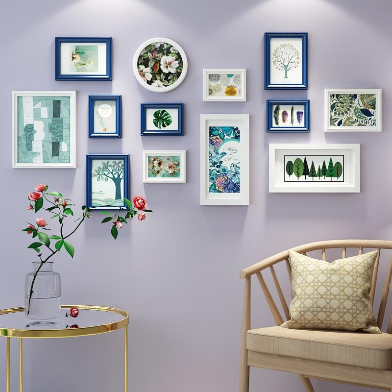 Multi rahmen Massivholz Malerei für Wohnkultur Wohnzimmer Mode ...