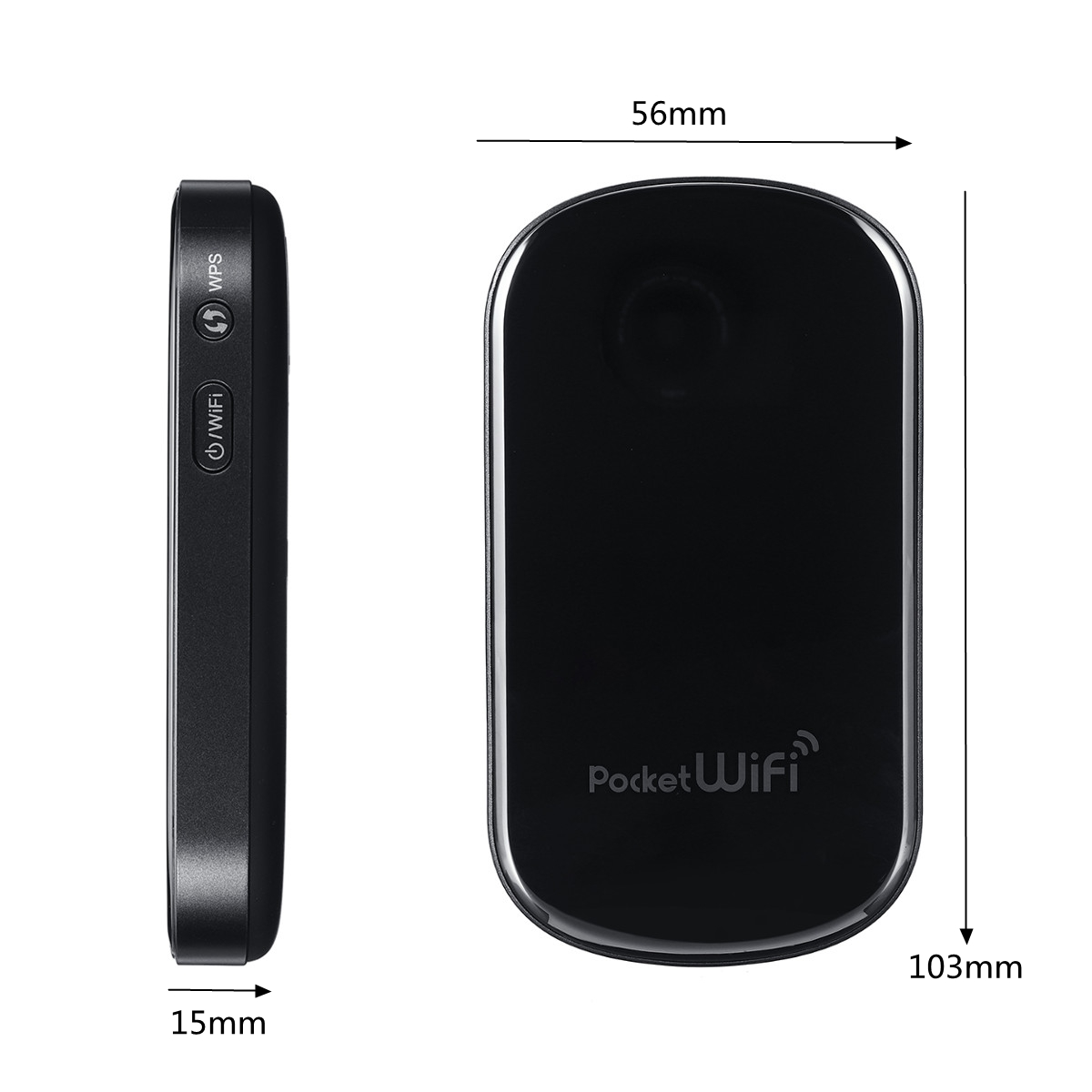 3G Router GP02 Portable WiFi 3G 2100MHz Professional Encryption Hotspot WiFi Repeater Wireless Router MiFi