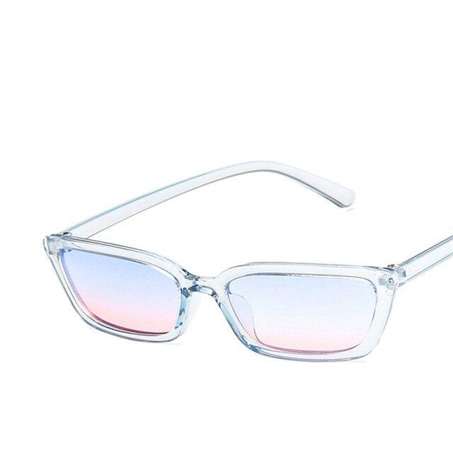 LeonLion 2019, gafas De Sol De lujo con montura pequeña, gafas De Sol rectangulares Vintage para mujer, gafas De Sol UV400