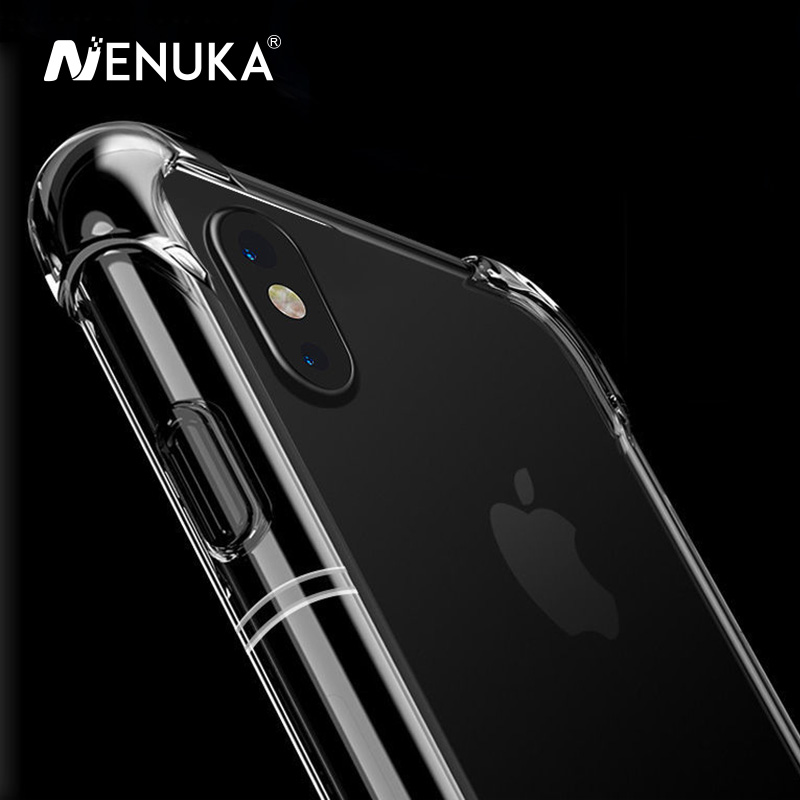 Nenuka Anti-Knock Shockproof for iPhone 7 Case 360 Body Protection Cases for iPhone 8 Plus Case 6s X Soft TPU for iPhone 6 Case