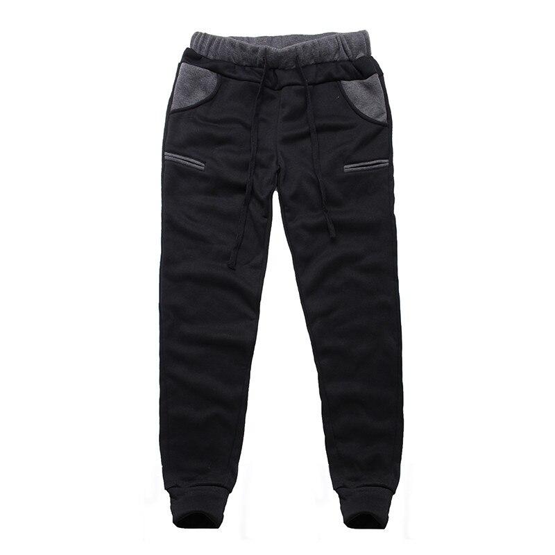 Winter Warm Thick Sweatpants Men's Track Pants Elastic Casual Baggy Lined Tracksuit Trousers Jogger Harem Pants Men Plus Size 12