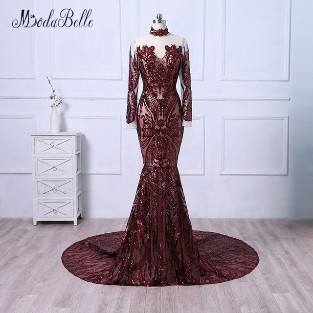 Online Shop Modabelle Fashion Bling Gold Sequins Long Sleeve Evening ...