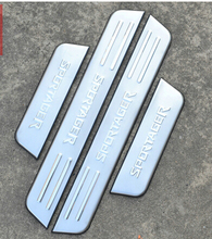 Free shipping  Stainless Steel Door Sill Scuff Plate For KIA Sportage R 2011 2012 2013 2014 2015