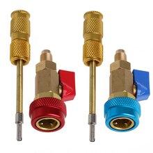 Кондиционер R134A сердечник клапана высокого низкого давления быстрый инструмент для Удаления Установщика