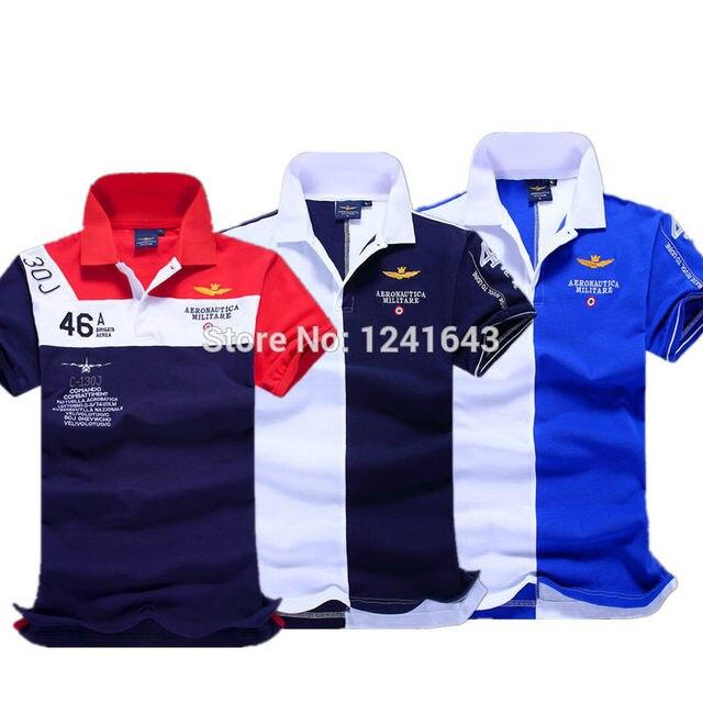 2016 высокое качество бренд мужской футболки, army air force one мужчины с коротким рукавом футболки shark camisa aeronautica militare clothing
