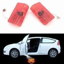 2/шт замена дверного фонаря! Автомобиль светодио дный логотип для ZOTYE T600 Z500 светодио дный двери логотип проектор приветствуются свет лазерная лампа Тюнинг автомобилей