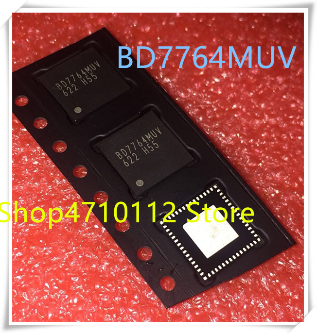 NEW 2PCS/LOT BD7764MUV-E2 BD7764MUV BD7764 QFN-36  IC