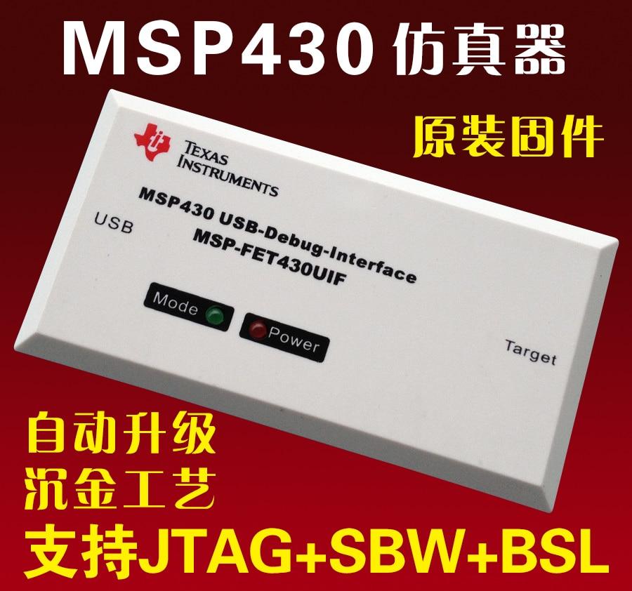 USB MSP430 Simulator FET430UIF Support F149 Development Board JTAG/BSL/SBW