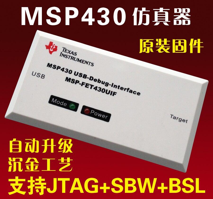 USB MSP430 simulator FET430UIF Unterstützung F149 entwicklungsboard JTAG/BSL/SBW