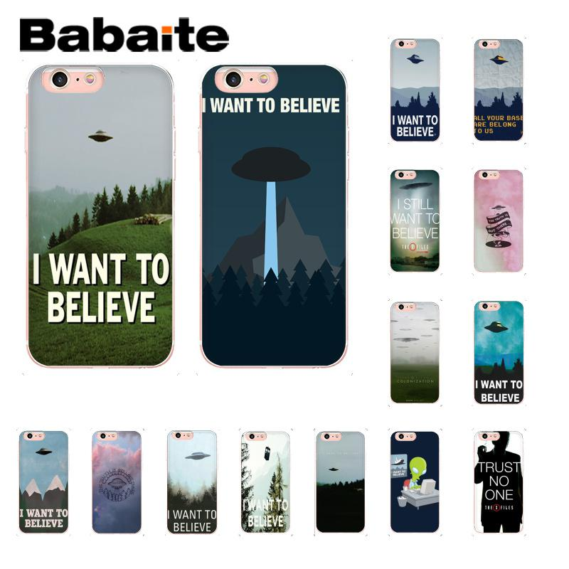 X FILES i want to believe iphone case