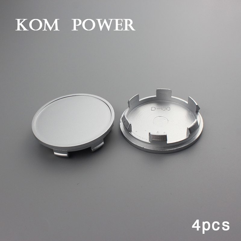 KOM 4pcs/lot 65mm center cap auto accessory Centro Tapas Llantas no logo badge wheel hub caps for clip 60mm KP656060D топливоснабжение no logo 7 10an auto