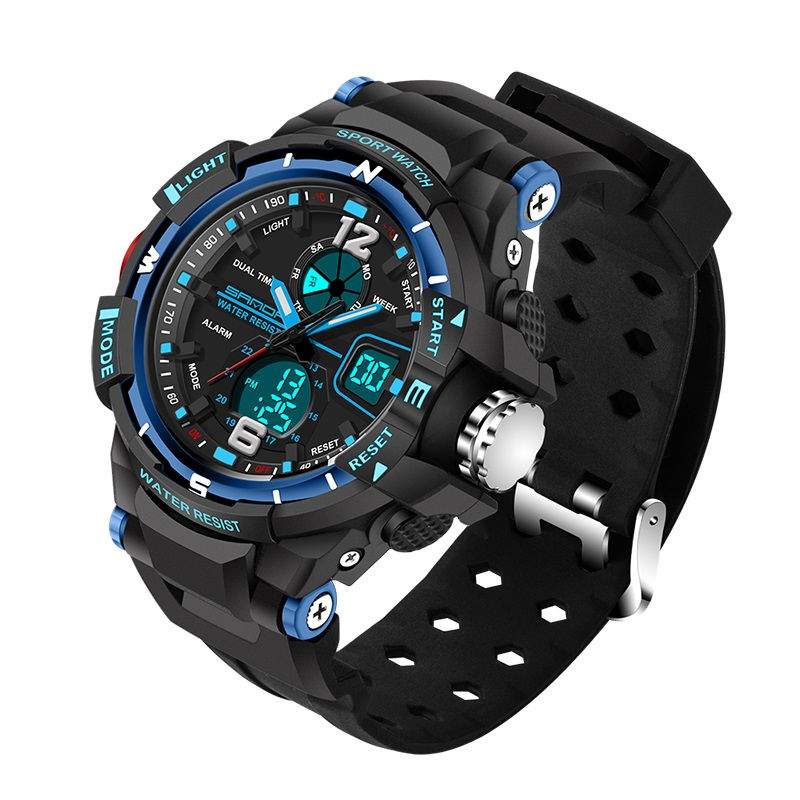 Militär Herren Digital Sportuhren Armbanduhren Led Quarz b7Yfg6y
