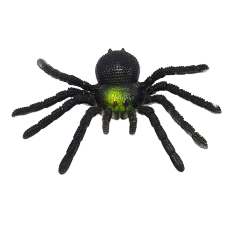 Novelty & Gag Toys New Long Teeth Scary Spider Halloween Party Props Decoration Horror Joke Toy Bc0811 Drop Shipping