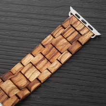 100% Natural Wooden Band for Apple Watch