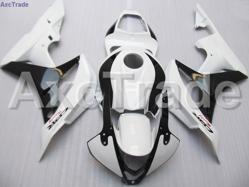 Moto Motorcycle Fairing Kit For Honda CBR600RR CBR600 CBR 600 RR 2007 2008 F5 ABS Plastic Fairings fairing-kit Black White C112 abs injection fairings kit for honda 600 rr f5 fairing set 07 08 cbr600rr cbr 600rr 2007 2008 castrol motorcycle bodywork part