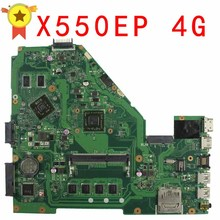 for ASUS F552E F552EP X552E X552EP REV2.0 Motherboard With Processor On board HD8670M 4G Memory 60NB03Q0-MB9120 100% test