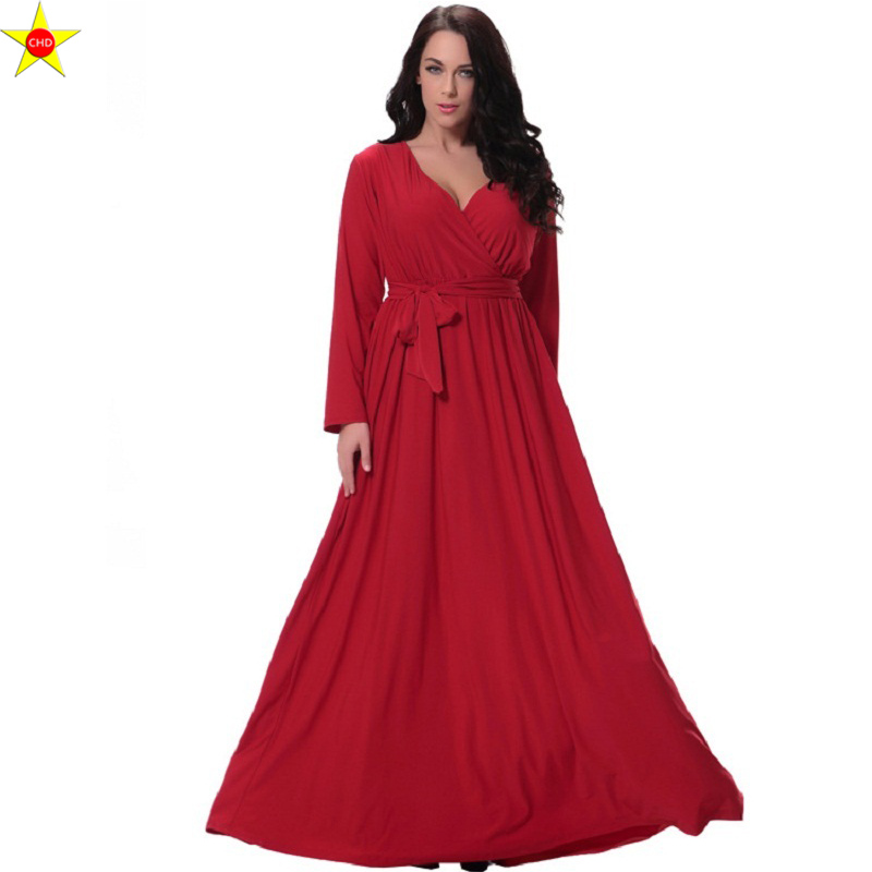M 6XL Plus Size Sexy Vintage Long Evening Party Dress New ...