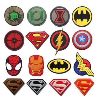 Нашивки героев Марвел и DS Comics