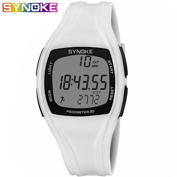 SYNOKE Man Sport Watch Waterproof LED Digital Watch Men Pedometer Calories Chronograph Watches Wristwatches Mens Watches