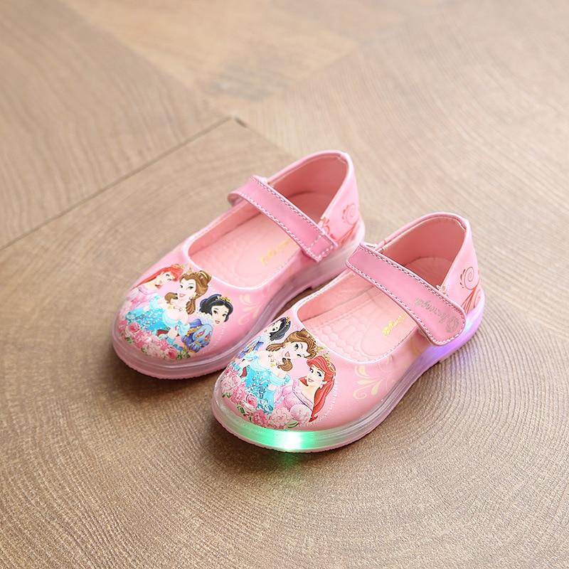 ON Kids Girls Princess Dress Up Flat Shoes Mary Jane Dance Shoes