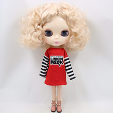 Neo Blythe Doll Oversize Red T-Shirt