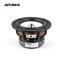 Aiyima 1PC 4Inch Full Range Speaker 4Ohm 8Ohm 30W HIFI Treble Mediant Bass Loudspeaker Desktop Bookshelf