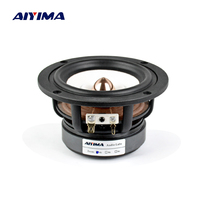 Aiyima 1PC 4Inch Full Range Speaker 4Ohm 8Ohm 30W HIFI Treble Mediant Bass Loudspeaker Desktop Bookshelf Audio Speaker