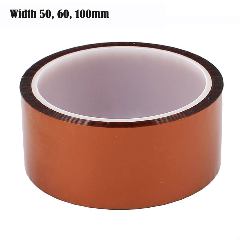 kapton Tape 200mm Extra Wide Jade White New 3d Printing Tape